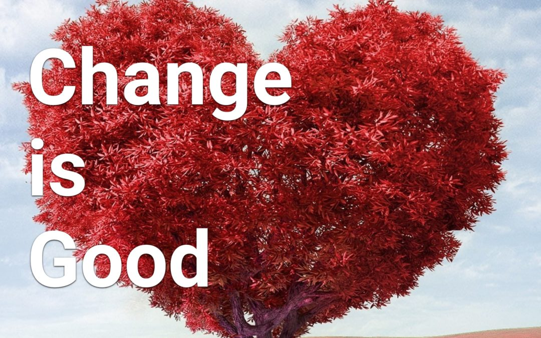 Episode 3 of the Change is Good Podcast is available